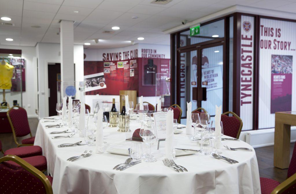 Venue Hire Edinburgh - Tynecastle Park, Heart of Midlothian FC