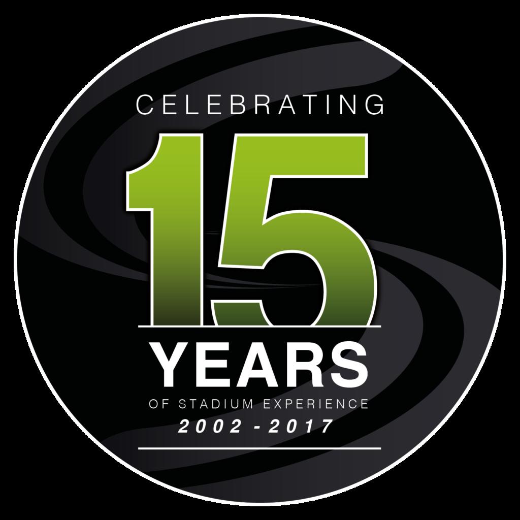 Stadium Experience 15th Anninversary Logo