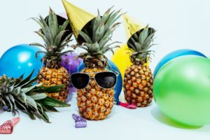 corporate party themes