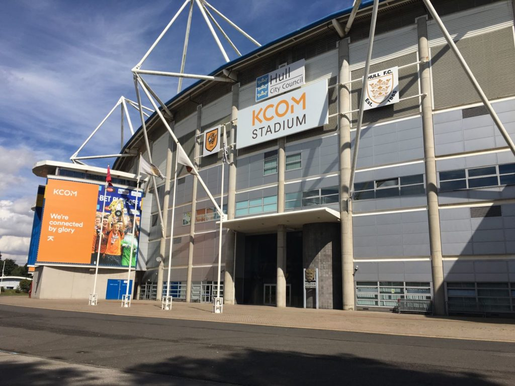 KCOM Stadium - Hull Conference Venue