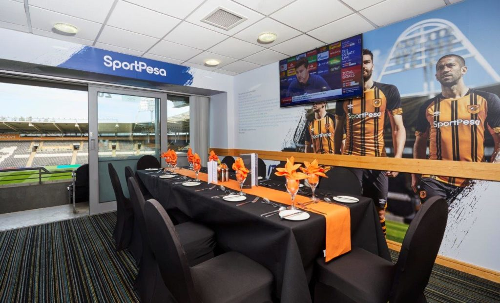 Hull City FC Executive Box 49 Executive Box Hire