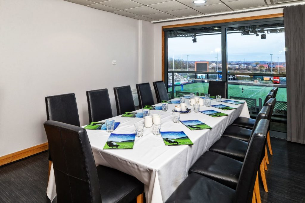 Meeting Box Hire at Newcastle Falcons Rugby