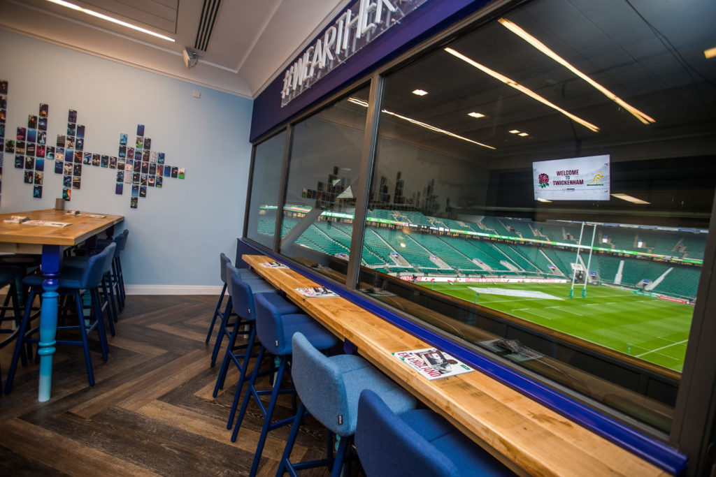 Twickenham Stadium Executive Box Hire